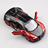 Red 1:32 Bugatti Veyron Alloy Diecast Car Model Collection Kid Vans Toy Gift ,vw jetta toy car