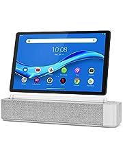 "Lenovo Smart Tab M10 Plus, 10.3"" Android Tablet, Alexa-Enabled Smart Device, Octa-Core Processor, 128GB Storage, 4GB RAM, Plantinum Grey, ZA6M0013US, Silver"