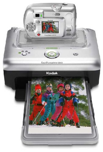 Kodak Easyshare CX7300 3.2 MP Digital Camera and Easyshare Printer - Kodak Easyshare Printer Camera Dock