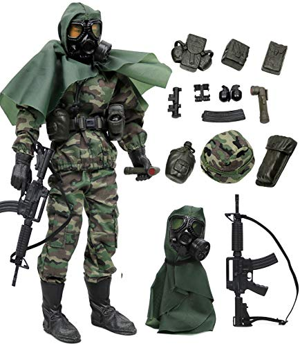 Click N' Play Military Marine Nuclear Biological Chemical (NBC) Specialist 12