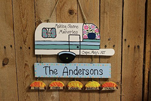 Personalized camping sign (Campsite Signs)