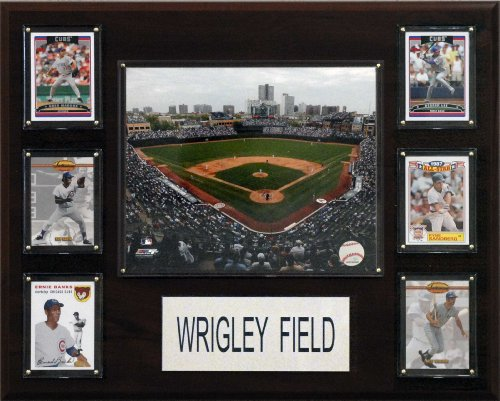 MLB Wrigley Field 16-Inch Stadium Plaque