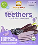 Organic Teethers by Happy Baby, Blueberry & Carrot