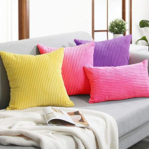 Amazon.com: sykting - Fundas de almohada para sofá, 7.1 x ...