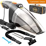Car Vacuum Cleaner - high Power 110W 12v Corded LED auto Portable...