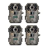 Stealth Cam G42NG 10MP HD Video IR Game Trail Camera (4 Pack)