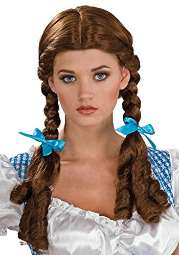 51762/126 Adult Dorothy Costume Wig From Wizard Of -