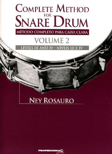 Download Complete Method for Snare Drum, Vol. 2 PDF