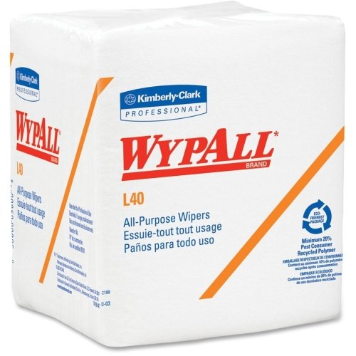 Wypall L40 General Purpose Wipes - Wipe - 56 - White