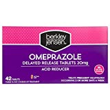 Berkley Jensen 20mg Omeprazole Acid Reducer Tablets, 3 pk./14 ct. (pack of 6)