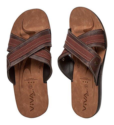 Sandali uomo Grigio shoes Viva Nero R8q7v