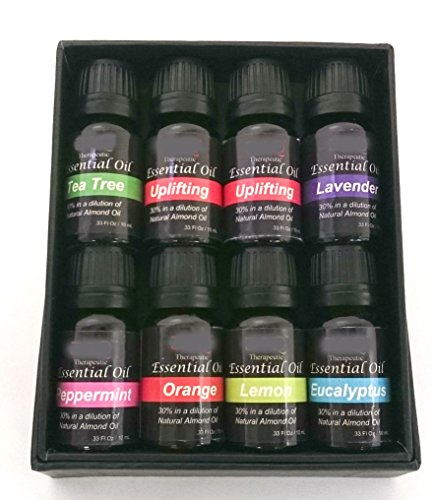 DeluxeOil Aromatherapy Therapeutic Deluxe Essential Oil Gift