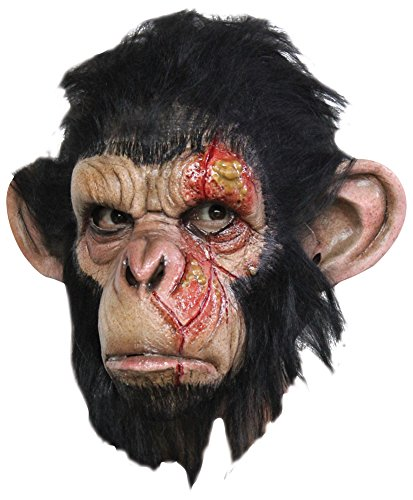 Halloween Mask- Infected Chimp Latex Costume Mask -Scary Mask
