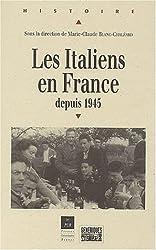 Les Italiens en France depuis 1945