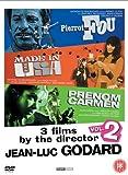 3 films by Jean-Luc Godard, Vol 2: Pierrot le Fou, Made in USA, Prenom Carmen