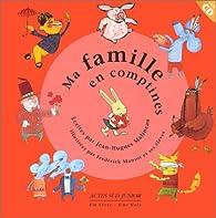 Ma famille en comptines par Jean-Hugues Malineau