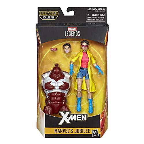Marvel Hasbro Legends Series 6-inch Collectible Action Figure Jubilee Toy (X-Men Collection) Caliban Build-a-Figure Part by Marvel (Image #1)