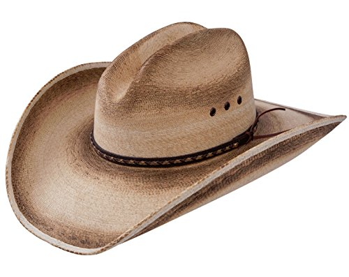 Resistol Jason Aldean Georgia Boy - Mexican Palm Straw Cowboy Hat (X-Large)