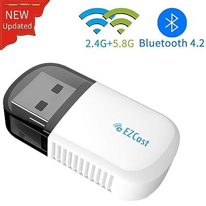 YEHUA USB WiFi Adapter for PC/Desktop/Laptop 5G Dongle Wireless Dual Band 2.4