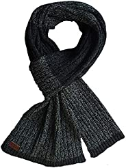 CanU Unisex Warm Soft Cozy Light Weight Winter Scarf for Men and Women