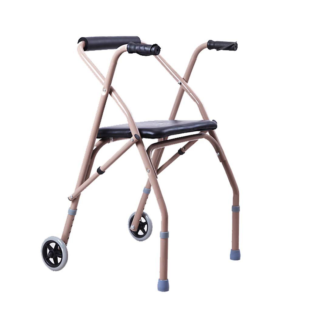誕生日プレゼント ソフトクッション、高さ調節可能 home、軽量、折り畳み式の車輪付きスクロールウォーキングフレーム B07H67SQCF Ailin home Ailin B07H67SQCF, ナチュレルSPゲルクリームの店健美:4970c62e --- a0267596.xsph.ru