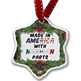 Christmas Ornament Made in America with Parts from Mexican - Neonblond