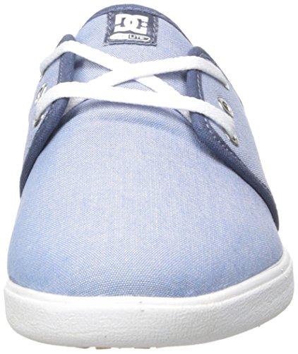 Azul Blanco de Se DC Shoe Haven Y Deporte J TX Xssw Zapatillas Mujer Bq07vAqw