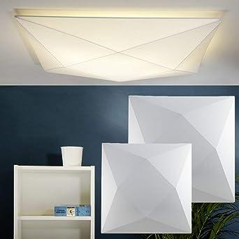 Moderne Wandleuchte Deckenleuchte Aus Stretch Stoff 58 Cm Deckenlampe Polaris Fur Wohnzimmer Schlafzimmer Flur Esszimmer Kinderzimmer