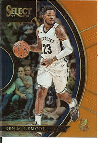 Select 2017-18 Orange Prizms #47 Ben McLemore Concourse 2/75 Grizzlies by Select