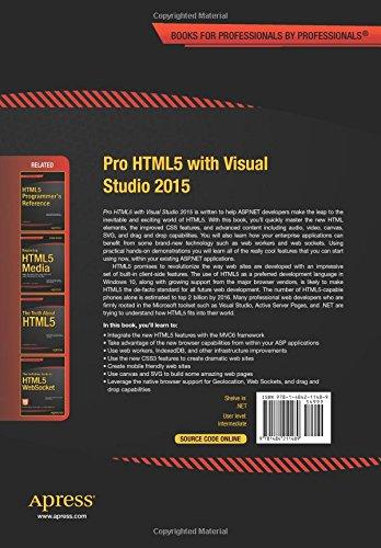 html5 visual studio 2015