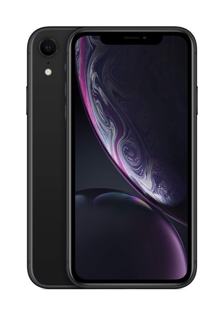 Apple iPhone XR (64Go) - Noir (Comprend EarPods, Câble Lightning vers USB, Adaptateur Secteur USB)(Comprend EarPods, Câble Lightning vers USB, Adaptateur Secteur USB)