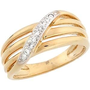 Amazon.com: Jewelry Liquidation 14k Two Tone Real Solid