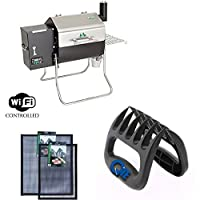 Davy Crockett GMG Pellet Grill With BBQ Claws & Grilling Mat Combo Pack made by  fabulous Green Mountain Grills