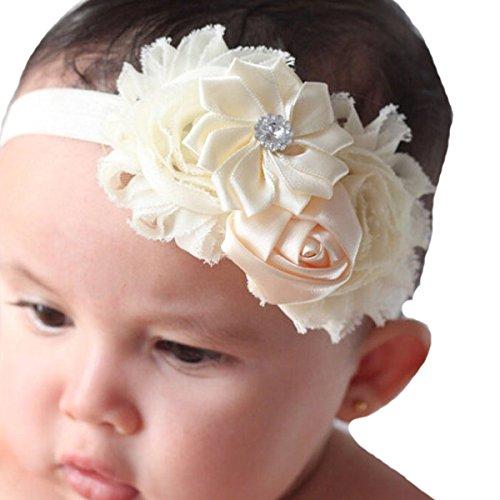 Miugle Shabby Flower Headbands Turban