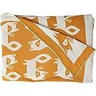 Lolli Living Mod Jacquard Knit Blanket, Fox
