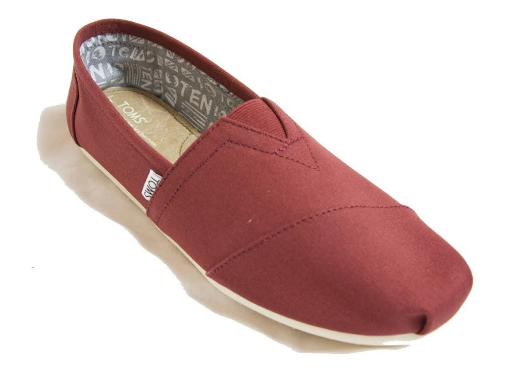 TOMS Men's Classic Canvas Slip-On (8.5 D(M) US, Henna) by TOMS