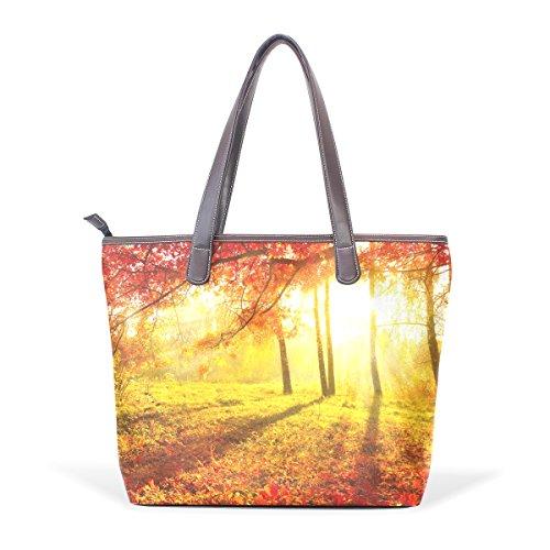 COOSUN - Bolso al hombro para mujer Multicolour#001 M(40x29x9)cm Multicolour#003