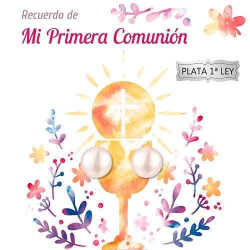 Pack 5 pendientes perla cultivada Plata de Ley - Regalos Primera Comunión invitados