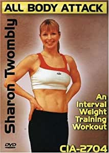 Sharon Money Twombly: All Body Attack - An Interval Weight Training Workout