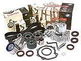 Evergreen TBK328WP 02-05 Subaru Impreza WRX Turbo 2.0 DOHC EJ20 Timing Belt Kit GMB Water Pump