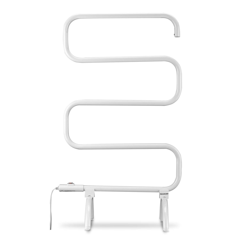 Homeleader Bath Towel Warmer Towel Drying Rack, Free Standing & Wall Mount Heated Towel Rack, Portable Towel Heater, 100W