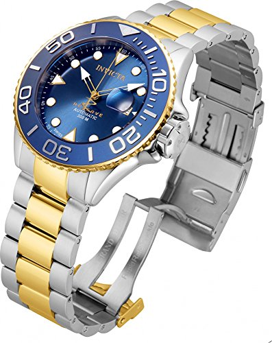 Invicta Men's 50mm Reserve Grand Diver Sapphire Crystal Swiss Made SW200 Automatic Bracelet Watch - 22853, (Invicta 50 Millimeters)