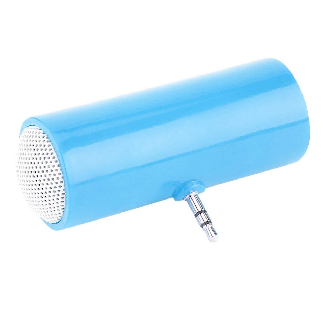 Tellaboull Mini Altoparlante Mono Canale Doppio Portatile con connettore Jack da 3,5 mm Mini Altoparlanti per Computer Tablet per telefoni cellulari