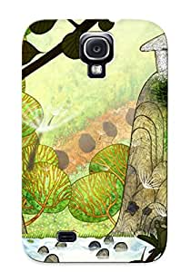 Awesome Case Cover/galaxy S4 Defender Case Cover(the Secret Of Kells ) Gift For Christmas