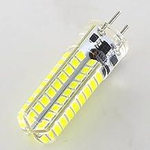 Smartlive 5pcs pack 5W 12V GY6.35 G6.35Base LED light bulb lamp 40 Watt Equivalent Halogen Bulb replacement Pure White 6000k for Chandelier,Indoor Decorative ,Ceiling Fan,kitchen lighting