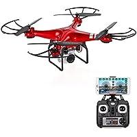 Goolsky Original HR SH5HD 2.4G 4CH 1080P Camera Wifi FPV Drone Height Hold Headless Mode One Key Return RC Quadcopter