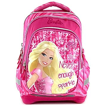 Target Barbie Sparkle Backpack Mochila Escolar, 46 cm, Rosa (Pink): Amazon.es: Equipaje