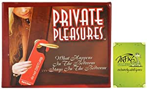 Private Pleasures - Adult Card Game For Couples - Bundle - 2 Items