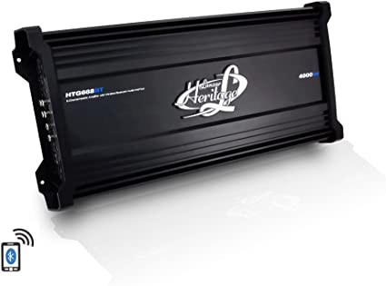 Amazon.com: Lanzar Amplifier Car Audio, 4,000 Watt, 6 Channel, 2 ...
