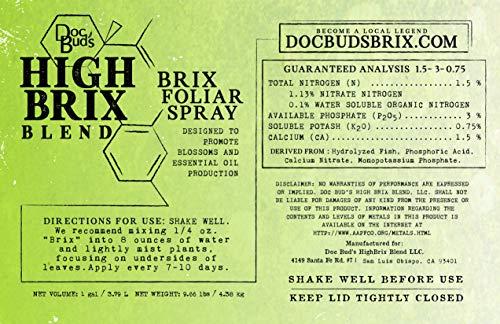 - Brix Foliar Spray (32 oz)